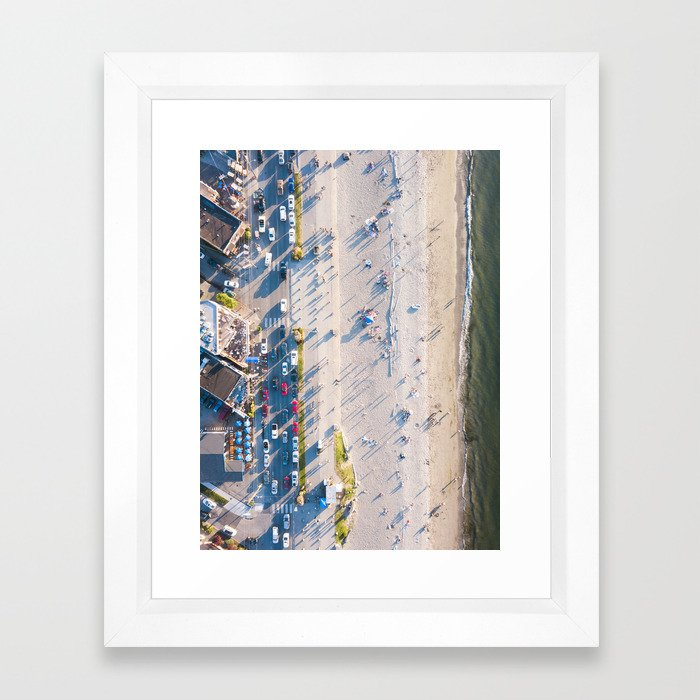 Alki Beach Framed Art Print