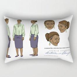 Darshanna Penna Character Design II Rectangular Pillow