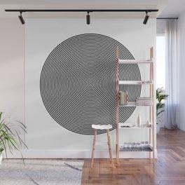 Hypnotic Circles optical illusion Wall Mural