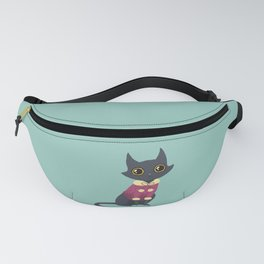 Cozy cat red Fanny Pack