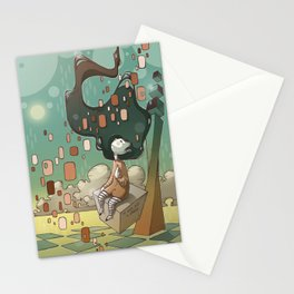 It Was Just a Dream Stationery Cards