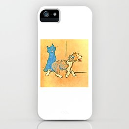 Dogs Large and Small, Ideal for Dog Lovers (39) iPhone Case