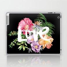 Love is Black Laptop & iPad Skin