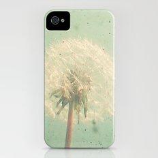 Dandelion Clock iPhone (4, 4s) Slim Case