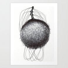 Natural being N.6 Art Print