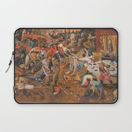 The triumph of Death Laptop Sleeve