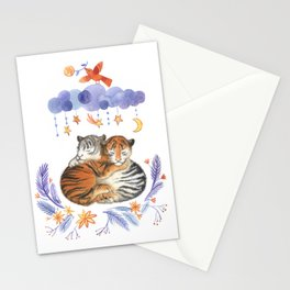 tigers dream Stationery Cards