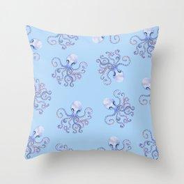 octopi Throw Pillow