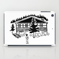 cabin iPad Cases featuring Family Cabin by Robert Cooper