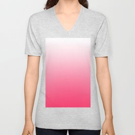 ombre pink dreams Unisex V-Neck