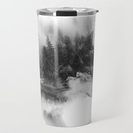 Wolf Stalking Travel Mug