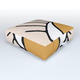 Bohemian Eye Outdoor Floor Cushion