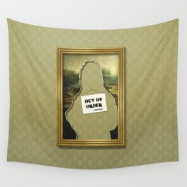 Out of order Wall Tapestry