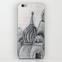 spires iPhone & iPod Skins featuring Spires by eckoepp