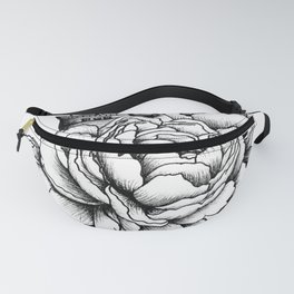 Sailing a Sea of Peonies Fanny Pack