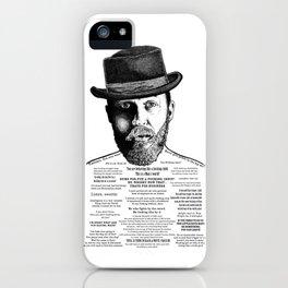 Alfie Solomons Ink'd Series iPhone Case