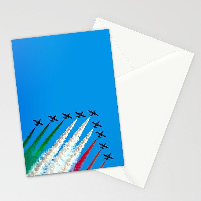 Frecce Tricolori Stationery Cards
