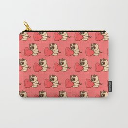 GrumpyCat in love hug Valentine's Day Carry-All Pouch