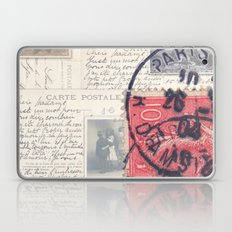 Postale Paris Laptop & iPad Skin