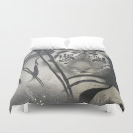 Chasing eyes Duvet Cover