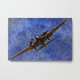282 Avro Anson Metal Print