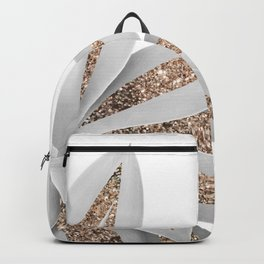 Agave Finesse Glitter Glam #9 #tropical #decor #art #society6 Backpack