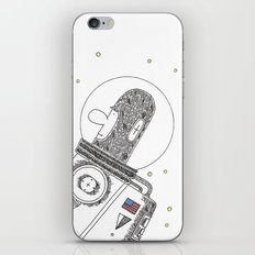 Space Man iPhone & iPod Skin