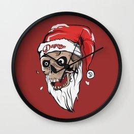 Hello Christmas Wall Clock