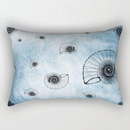 Sea of Ammonites Rectangular Pillow