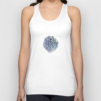 hydrangea Tank Tops featuring Hydrangea by Henry Chang