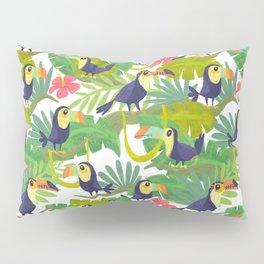Toucan Paradise Pattern Pillow Sham