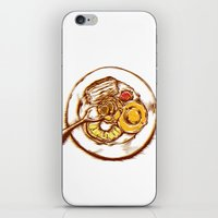 dessert iPhone & iPod Skins featuring Dessert by EGARCIGU