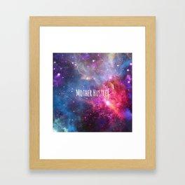 Mother Hustler Framed Art Print