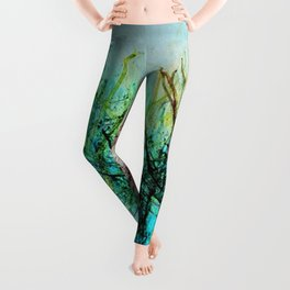 Coral reef in the gold coast Leggings