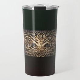 Ygdrassil the Norse World Tree Travel Mug