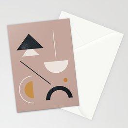 Minimal Geometric Art 12 Stationery Cards