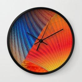 Hexa Twirl Wall Clock