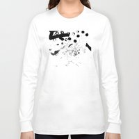 contemporary Long Sleeve T-shirts featuring CONTEMPORARY ART by Josh LaFayette