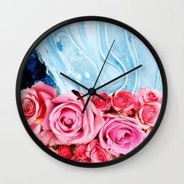 Unexpected Blossom #society6 #decor #buyart Wall Clock