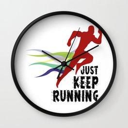 keep running Wall Clock
