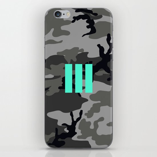 Military - Camouflage iPhone & iPod Skin