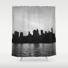 Manhattan IV Shower Curtain