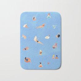 Summer Weekend in The Ocean Bath Mat
