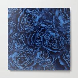 Enchanted Garden - Passion Roses  Metal Print