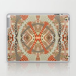 Playful retro patterns in fall colors Laptop & iPad Skin