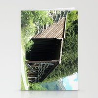 john snow Stationery Cards featuring Snow Shed by NoelleB