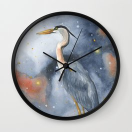 Wading in the Wonderland Wall Clock