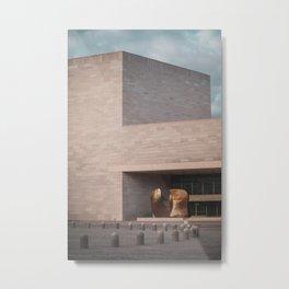 The National Gallery of Art - East Building Metal Print