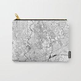 Washington D.C. White Map Tasche