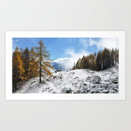 The Confluence Of The Seasons Art Print